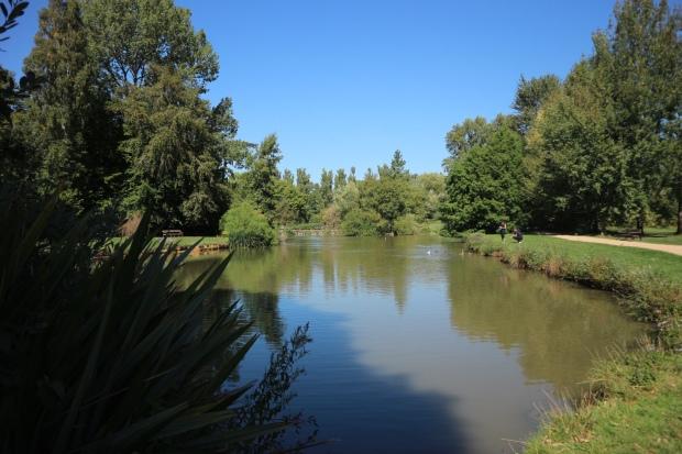 University Parks Pond